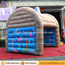 Children inflatable airflow junmping bouncer with PVC Tarpaulin