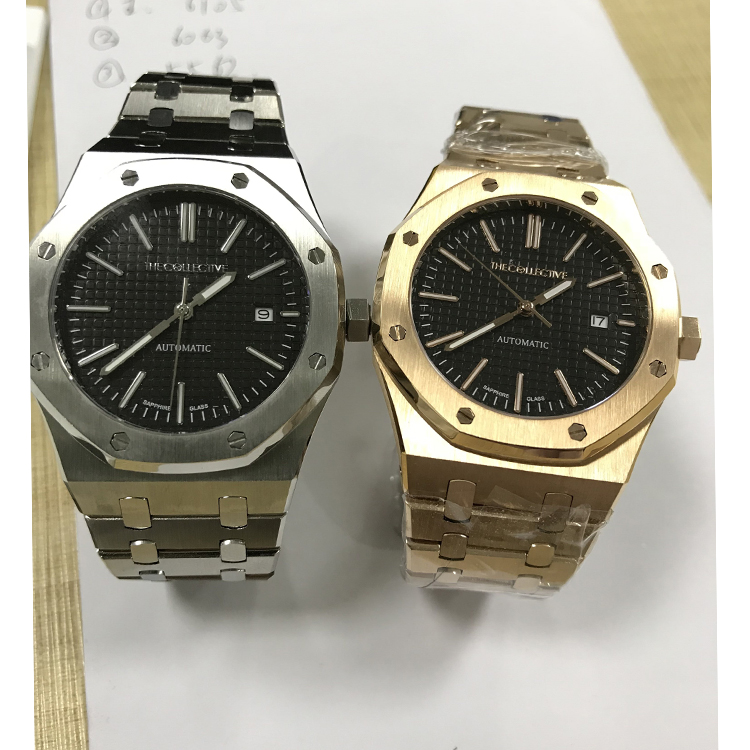 Brand Your Own Watches Stainless Steel Room18cm 생활에 Movement Watches Luxury 자동 Watches