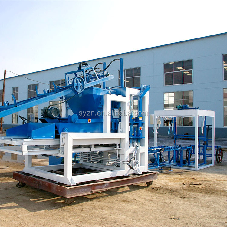 QT4-20 cheap startop China concrete solid hollow paver brick block making machine for sale factory price
