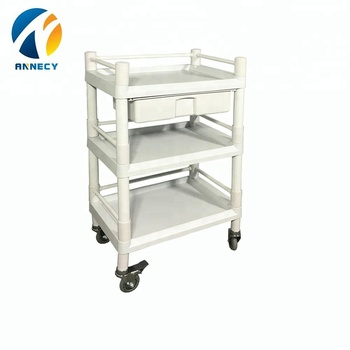 AC-UT016 hot sale abs hospital medical utility carts trolley