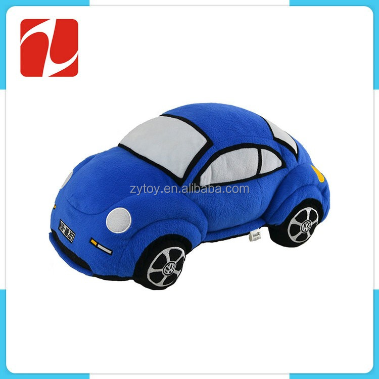 super soft special designed custom cheap plush children toys car