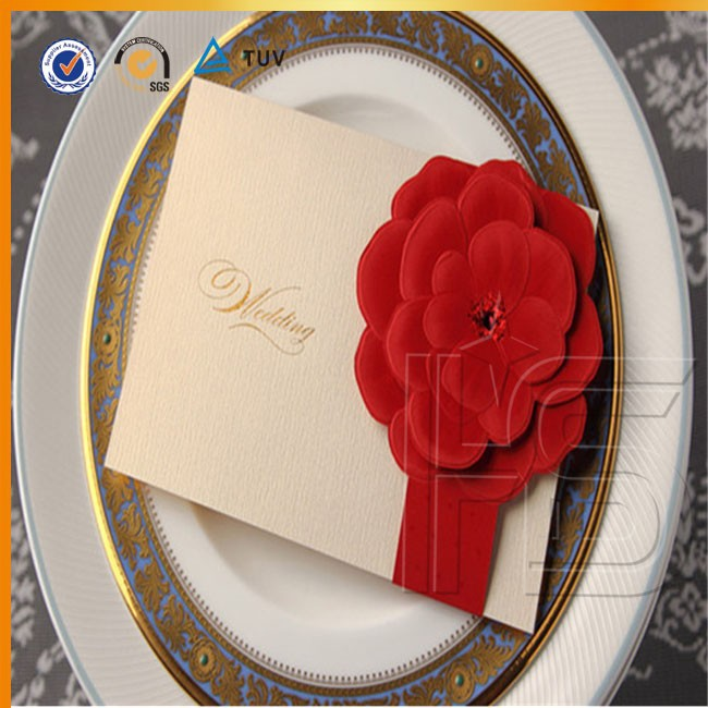 Chinanes Factory Handmade Tamil Wedding Card Design For Wholesale