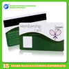writable 3 track hico magnetic stripe plastic printing card