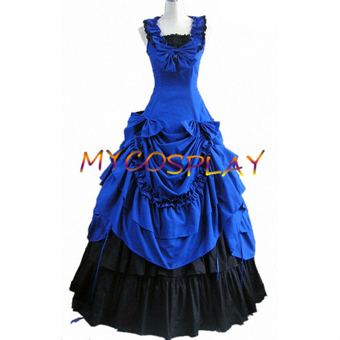 Get Quotations · 2015 Sleeveless Ball Gowns adult southern belle costume Victorian  dress Halloween costumes for women lolita dress 3afabe10f1de