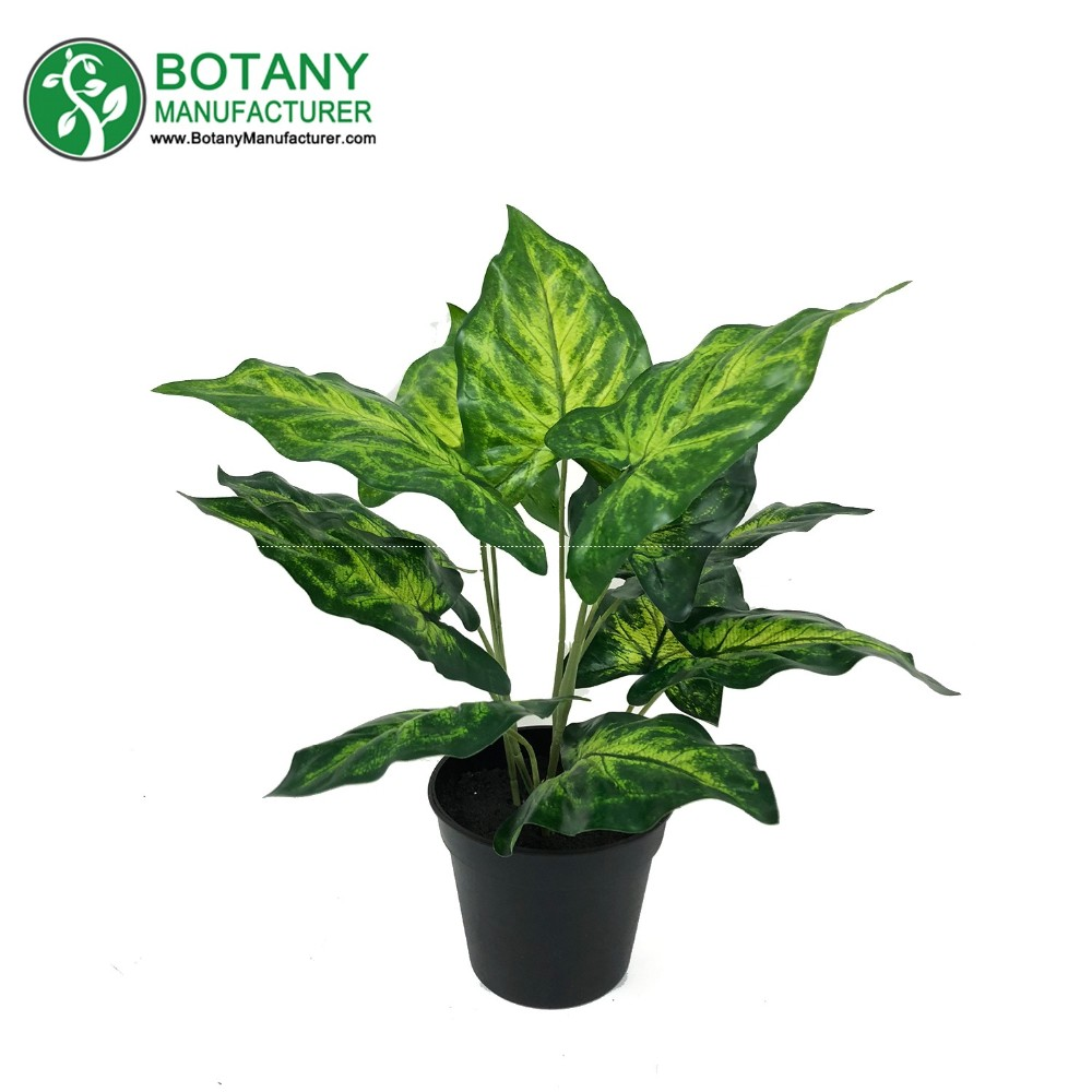 Small Green Artificial Plants Trees Artificial Tropical Plants
