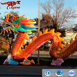 Wonderful lantern festival decorate waterproof chinese dragon lantern