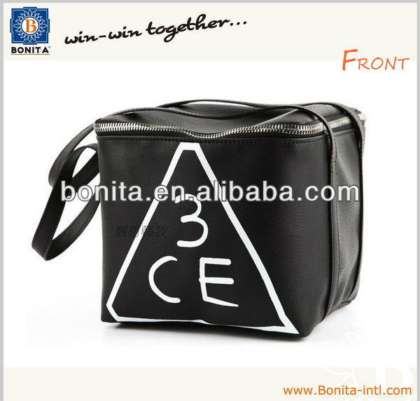 Promotional pu cheap cosmetic bag, makeup bag, cosmetic case