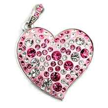 Jewelry Heart Mini USB Flash Drive 512GB 1TB 64GB 32GB Pen Drive 16GB 8GB Pendriver Gadget Gift USB Memory Stick Key 2TB 2.0