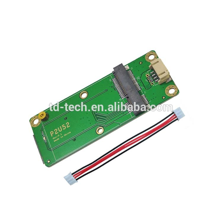 Taidacent 3G 4G Module Testing Board Mini Pcie Extender Pci Express Usb 3.0 Card Mini Pcie to Usb 3.0 Adapter