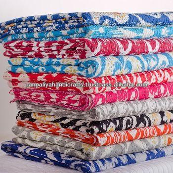 Best Quality King Vintage Indian Sari Quilt/indian Handmade Quilts ... : indian sari quilts - Adamdwight.com