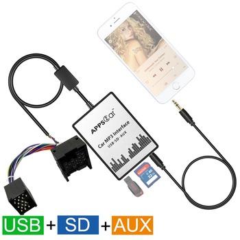Digital Music Changer Usb Sd Aux Interface For 17pin Bmw E36 E46 E39 E38  /bmw K1200lt/compact E46 Etc - Buy Digital Music Changer Usb Sd Aux