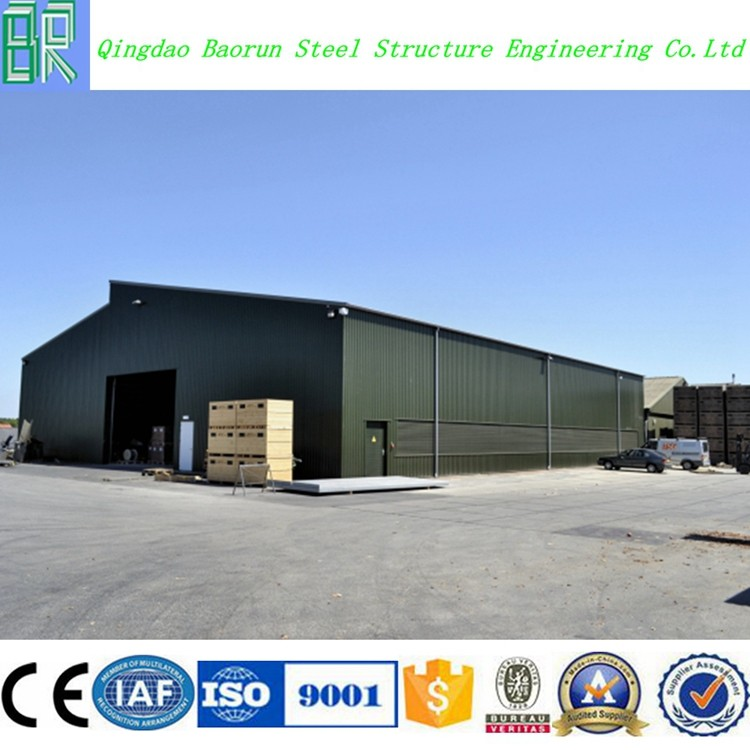 Steel Structure Building Fabricate Warehouse