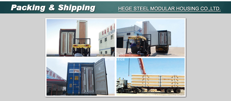 Prefabricated housing Steel house, luxurious foldable and expandable container room prefabricated, cheap mobile housing