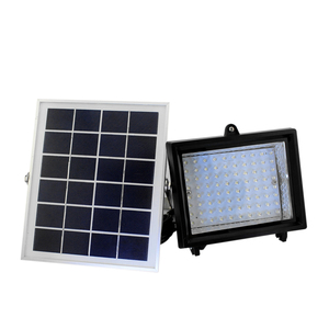 SL50 80 led all aluminum integrated type time sensor led outdoor lighting Lamp solar light for wall garden