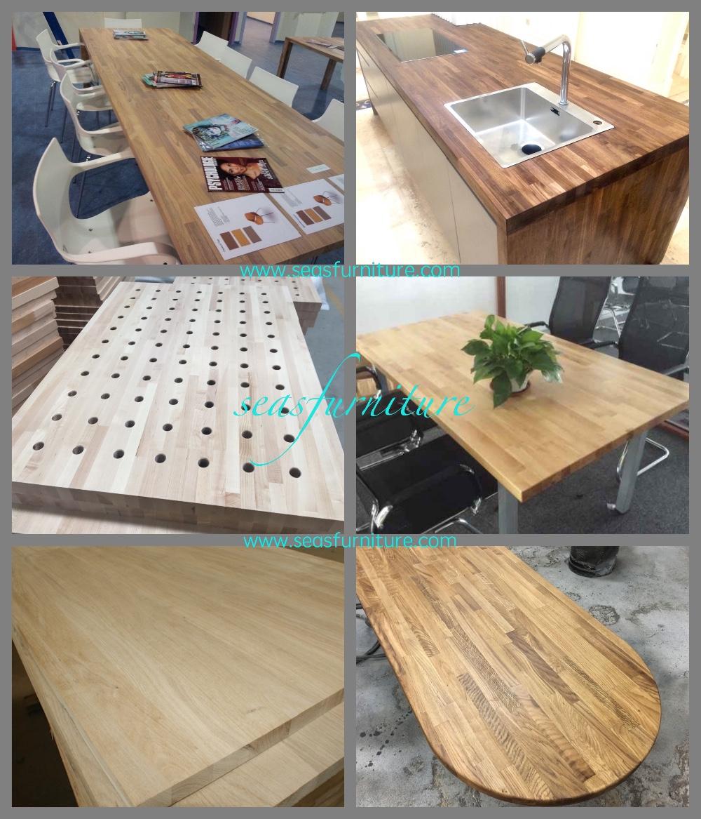 Merbau Butcher Block Tops/countertops/island Tops/Solid Wood Cabinet  Tops/worktops