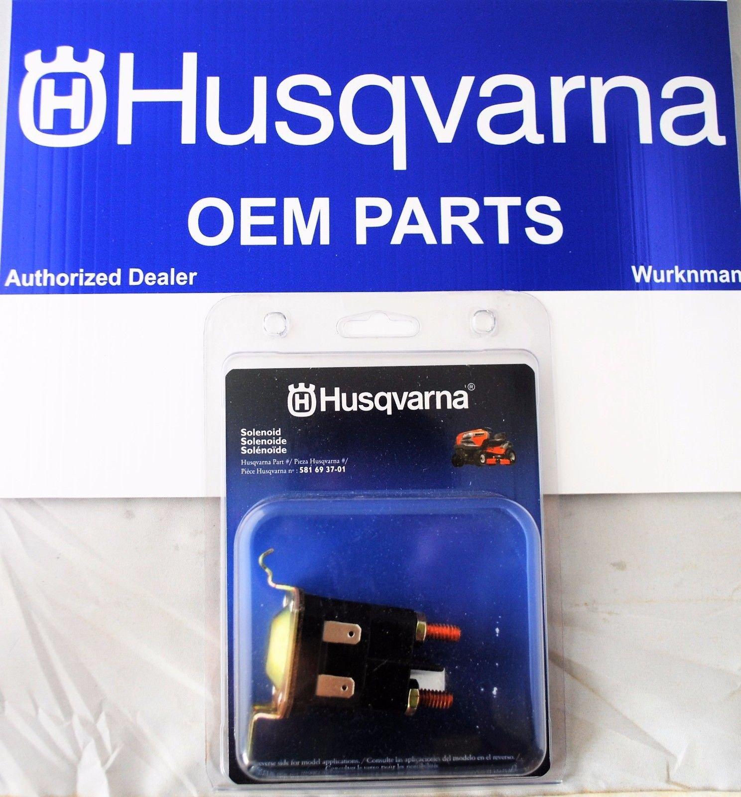 Husqvarna Oem Starter Solenoid 581693701 Rp 532192507 192507 Craftsman Poulan