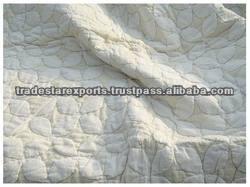 Handmade Applique Cut Work Quilt,100 % Cotton Quilt India