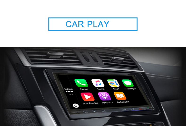 SA102 multimedia player apple carplay funktion android auto auto stereo