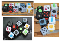Desk Toy Matt Surface Smooth Touch silicon button and rubber oil Fidget Cube Adults Stress Relief Toys