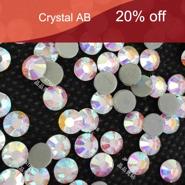fashionable style high quality top sale ss20 5mm crystal ab hot fix rhinestones for handicrafts;14 exquisite technology cutting