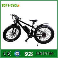 Top 48V 500W 8fun bafang motor High Speed Adult Electric Bike/ 26 inch fat tire electric mountain bike in China