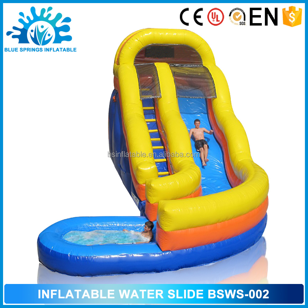 High Quality Outdoor Toys Cheap Inflatable Water Slide on sale top