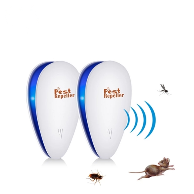 Sincere Ultrasonic Pest Repeller Electronic Mouse Bug Repellent Mosquito Pest Rejector Killer Pest Control Device Anti Insects Access Control Security & Protection