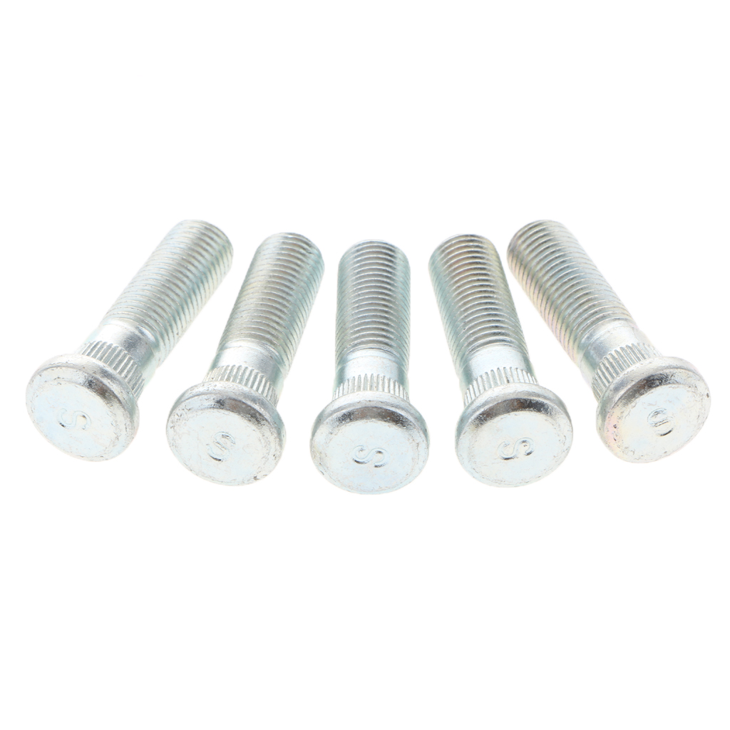5 Pieces Auto Car Wheel Studs Stud Bolts M10*1.5mm For