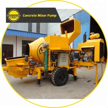 Diesel/Electric Type 20m3 Concord Concrete Delivery Pump