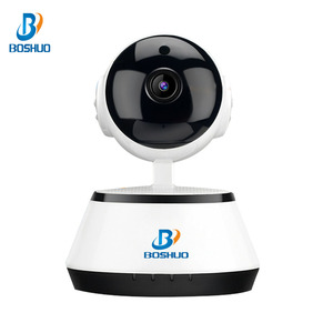 Micro Sd Card Slot 720P Intelligent Motion Detection P2P Wireless Wifi IP Camera