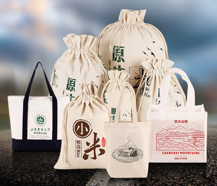Manufacturers wholesale canvas bag environmental protection bag shopping canvas bag