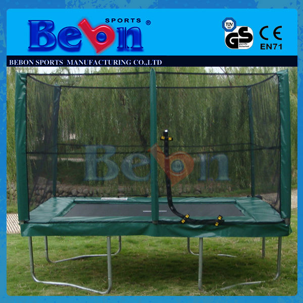 Bebon 4 CBM Super Quality Big Jumping Advanced Technology Best Trampoline Bungee Harness