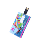Credit Card Shaped Disk USB Flash Pen Drive With Christmas Gift Box