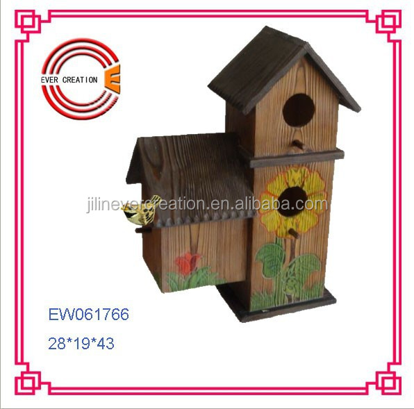 Decorative &Outdoor items Wooden Bird Houses