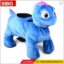 Best selling outdoor blue battery chinese animal ride on toy for sale