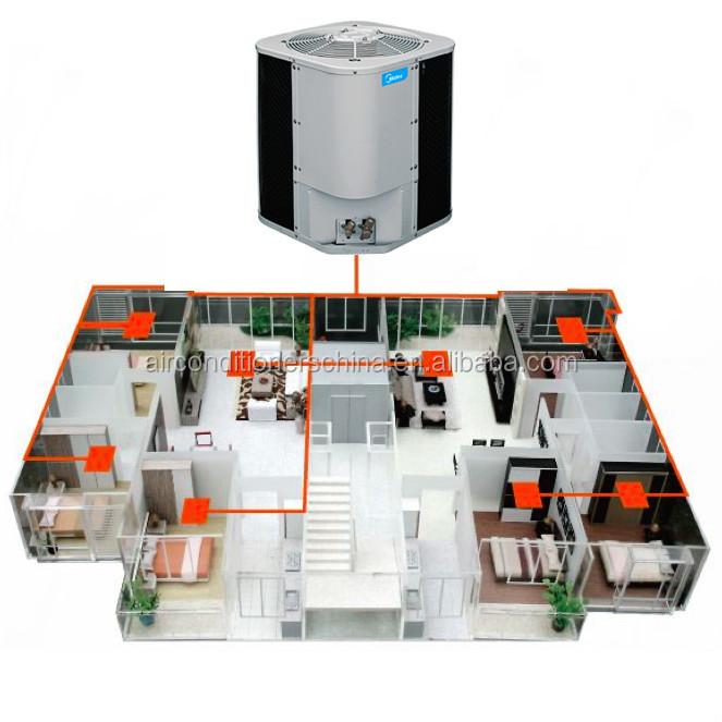 Top Discharge Condensing Unit With Duct Indoor Buy Top