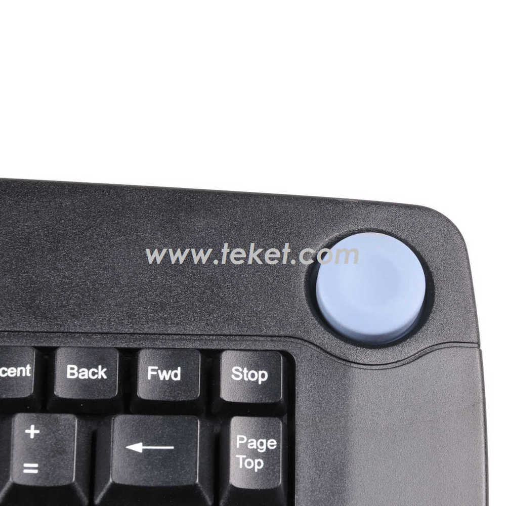 China supply Infrared Wireless Keybaord K809 customized usb or ps/2 receiver