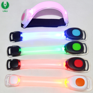 Fitness Light Up Night Running Outdoor Luminous Customized Stretch Armband