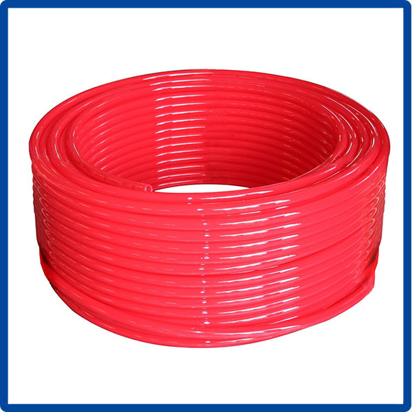 Tubing Oxygen Barrier EVOH Red Radiant Floor Heat Pipe