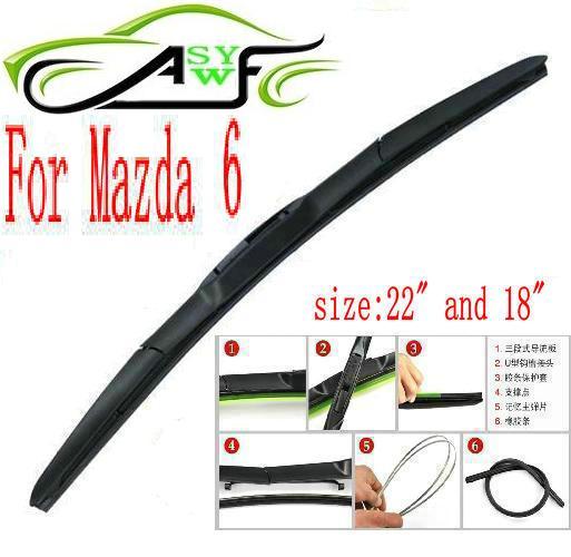 Автомобиль стеклоочиститель лезвие для Mazda 6 размер 22