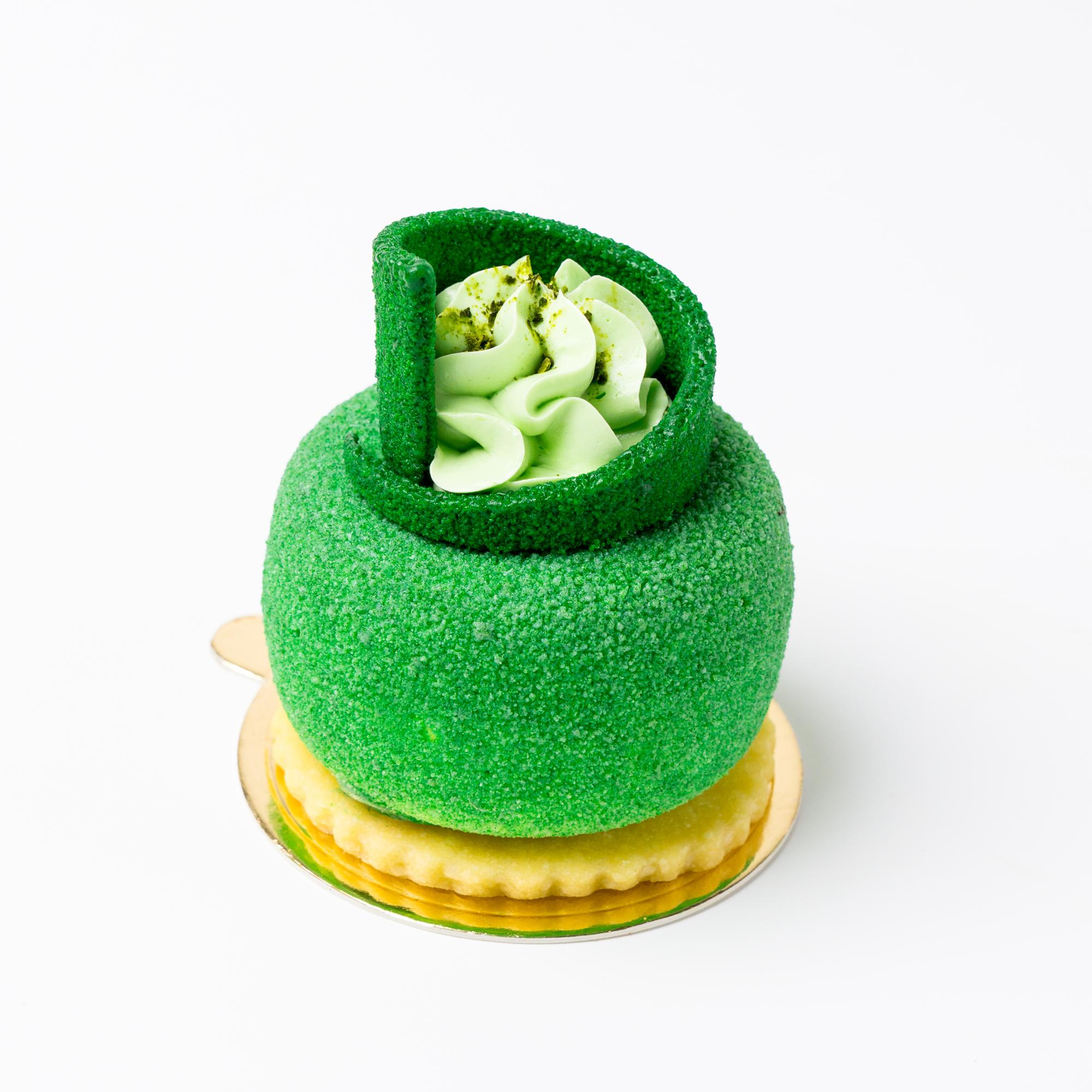 Singapore Food Green Tea Mousse