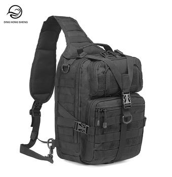0aec7ef54 Tactical Sling Bag Pack Military Rover Shoulder Sling Backpack Molle  Assault Range Bag Everyday Carry Diaper