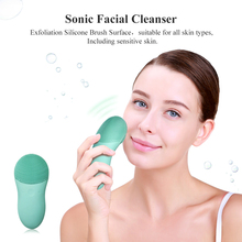 TOUCHBeauty TB1788 Purifying and Exfoliating Rechargable Electric Silicone Facial Scruber Face Silicone Cleaning Brush
