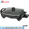 Anbo Detachable automatic Customized Non-stick Coating Cooking Pan round electric Large space Safety Easy pizza maker
