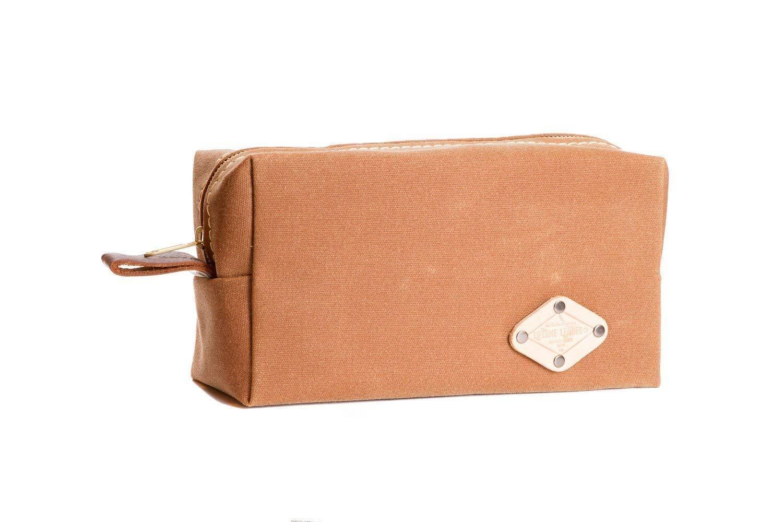9de28c016a Wax Canvas Toiletry Travel Bag Dopp Kit---Men s Dopp Kit---
