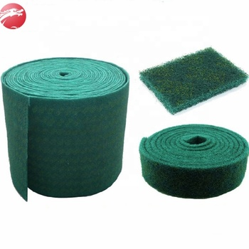 Raw material green nylon scouring pad rolls