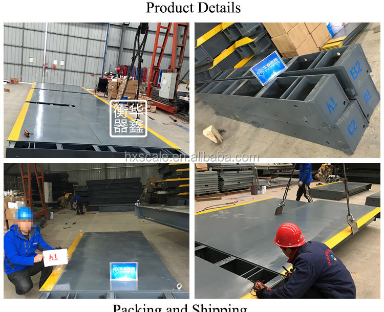 200 tons 80 Ton good steel Electronic Digital Truck Sale Weighbridge Truck Weight Bridge Scale with beam