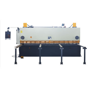 4mm 6mm 8mm 12mm Plate Sheet Metal cnc Manual Guillotine Hydraulic Shear For Punching And Shearing Machine