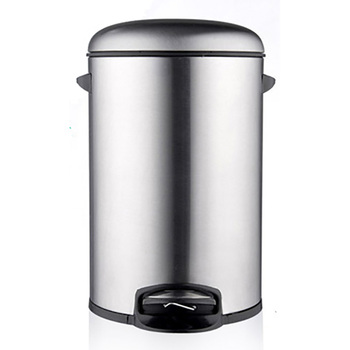 Pop Up Kitchen Touchless Stainless Steel Foot Pedal Office Trash Can - Buy  Touchless Stainless Steel Trash Can,Foot Pedal Trash Can,Kitchen Trash Can  ...