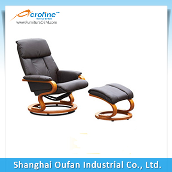 Acrofine swivel chair base for recliner chair lift recliner chair ARL-8828 with ottoman